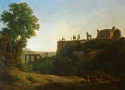 Italian Landscape with Figures and Ruins | Richard Wilson