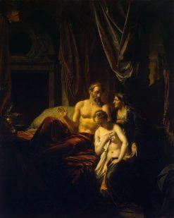 Sarah Bringing Hagar to Abraham   Adriaen van der Werff   Oil Painting
