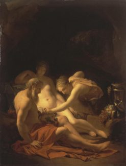 Lot and his Daughters | Adriaen van der Werff | Oil Painting