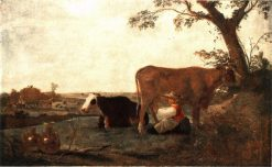 The Dairy Maid | Aelbert Cuyp | Oil Painting