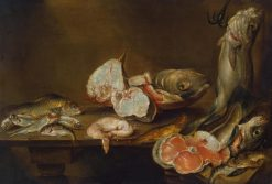 Fish Piece | Alexander Adriaenssen | Oil Painting