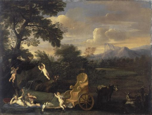Venus at Rest | Andrea Sacchi | Oil Painting