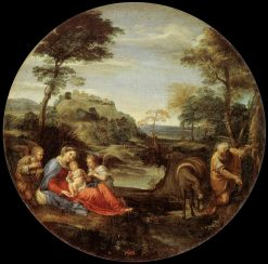 Rest on the Flight into Egypt | Annibale Carracci | Oil Painting