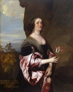 Lady Jane Goodwin   Anthony van Dyck   Oil Painting