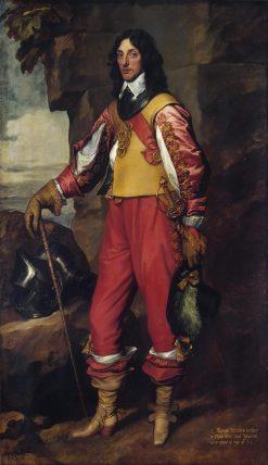Portrait of Sir Thomas Wharton (1615-1684) | Anthony van Dyck | Oil Painting