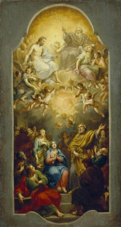 Descent of the Holy Spirit | Anton Raphael Mengs | Oil Painting