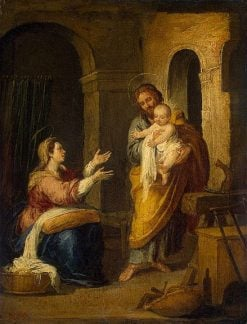 Holy Family | BartolomE Esteban Murillo | Oil Painting
