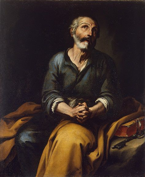 Repentence of Saint Peter | BartolomE Esteban Murillo | Oil Painting