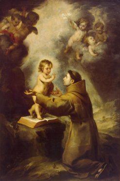 Vision of St Antony of Padua | BartolomE Esteban Murillo | Oil Painting