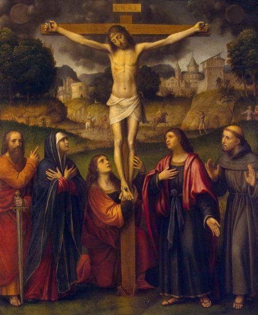 The Crucifixion | Bernardino Luini | Oil Painting