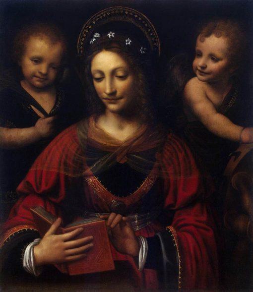 Saint Catherine | Bernardino Luini | Oil Painting