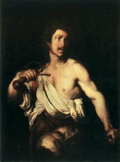David with the Head of Goliath | Bernardo Strozzi | Oil Painting