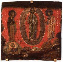 Transfiguration   Byzantine School Unknown   Oil Painting