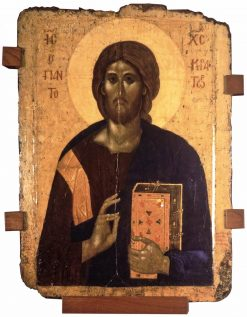 Christ Pantocrator | Byzantine School Unknown | Oil Painting