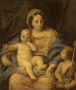 Madonna and Child with Saint John the Baptist | Carlo Maratta | Oil Painting