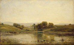 The Pool | Charles Francois Daubigny | Oil Painting