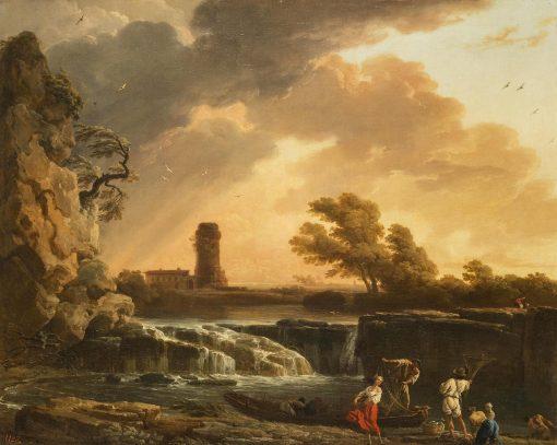 Thunderstorm | Claude Joseph Vernet | Oil Painting