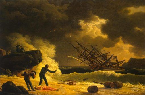 Death of Virginia | Claude Joseph Vernet | Oil Painting