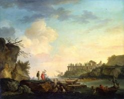 Ruins near the Mouth of a River | Claude Joseph Vernet | Oil Painting