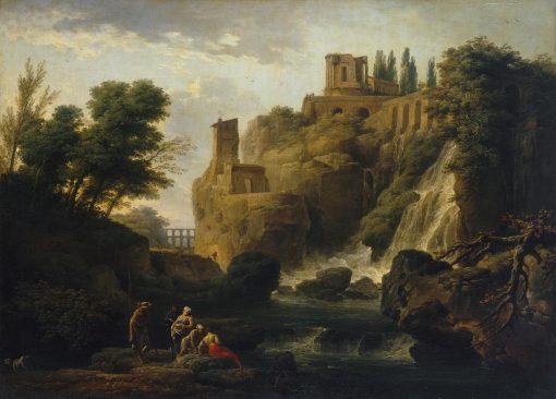 Waterfall in Tivoli | Claude Joseph Vernet | Oil Painting