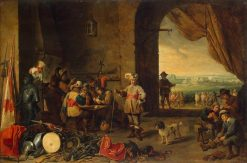 A Guardroom | David Teniers II | Oil Painting