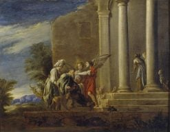 The Healing of Tobit | Domenico Fetti | Oil Painting