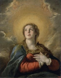 Madonna in Glory(also known as Immaculate Conception) | Domenico Fetti | Oil Painting