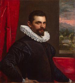 Portrait of Franceso Bassano ? | Domenico Tintoretto | Oil Painting