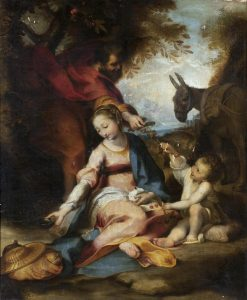 Rest on the Flight into Egypt | Federico Barocci | Oil Painting