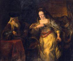 Esther and Mardochai | Ferdinand Bol | Oil Painting