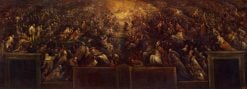Resurrection of the Righteous (Heaven) | Francesco Bassano the Younger | Oil Painting