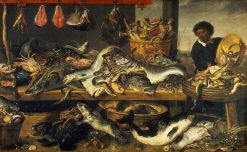 A Fish Stall | Frans Snyders | Oil Painting