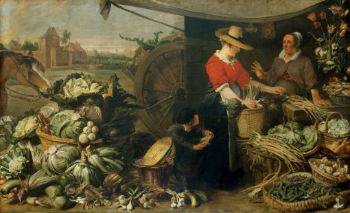 Fruit Stall | Frans Snyders | Oil Painting