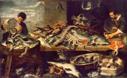 Fish Stall | Frans Snyders | Oil Painting
