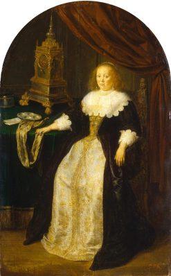 Portrait of a Lady | Frans van Mieris the Elder | Oil Painting