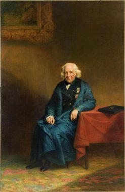 Portrait of Nikolay Mordvinov   George Dawe   Oil Painting