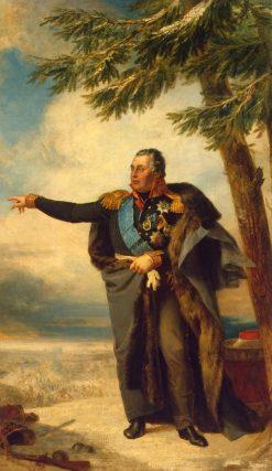 Portrait of Mikhail Kutuzov (1745-1813)   George Dawe   Oil Painting