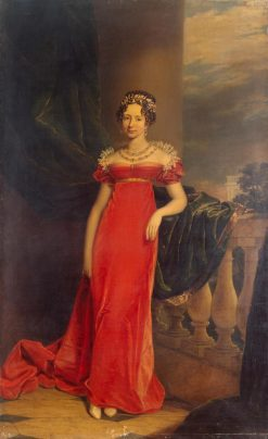 Portrait of Grand Duchess Maria Pavlovna   George Dawe   Oil Painting