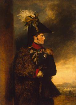Portrait of Alexander S. Menshikov (1787-1869)   George Dawe   Oil Painting