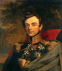 Portrait of Ivan F. Paskevich (1782-1856)   George Dawe   Oil Painting