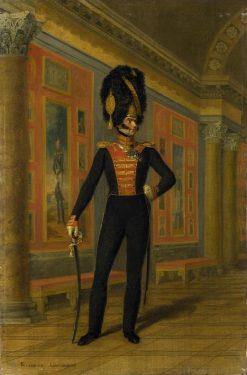 Portrait of Vasily Lavrentyev   George Dawe   Oil Painting