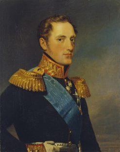 Portrait of Grand Duke Nikolai Pavlovich   George Dawe   Oil Painting