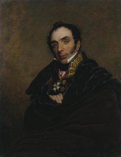 Portrait of Miguel Ricardo de Alava   George Dawe   Oil Painting