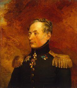 Pavel I. Merlin   George Dawe   Oil Painting