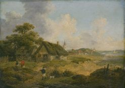 Village View | George Morland | Oil Painting