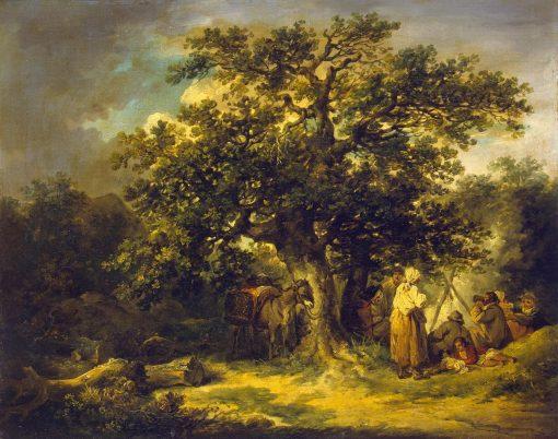 Gypsies | George Morland | Oil Painting