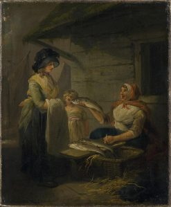 Fishwife | George Morland | Oil Painting