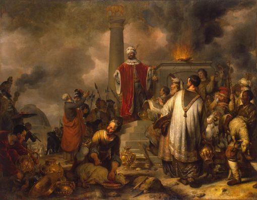 Jeroboam's Sacrifice at Bethel | Gerbrand van den Eeckhout | Oil Painting