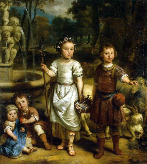Children in a Park | Gerbrand van den Eeckhout | Oil Painting