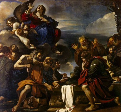 Assumption of the Virgin | Guercino | Oil Painting